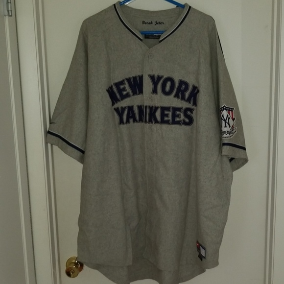 separation shoes 5a52f 5e699 Throwback New York Yankees Derek Jeter Jersey